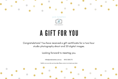 Gift Certificate – 2 hours